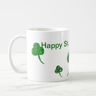 St. Patty's Day - Shamrocks - Mug