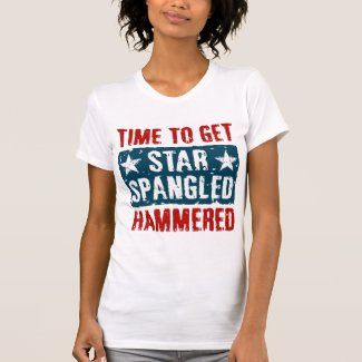 Star Spangled Hammered T-shirt