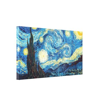 Starry Night - Vincent Van Gogh Canvas Print