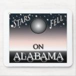 Stars Fell On Alabama mousepads