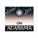 Stars Fell On Alabama postcards
