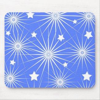 Stars pattern - Mousepad