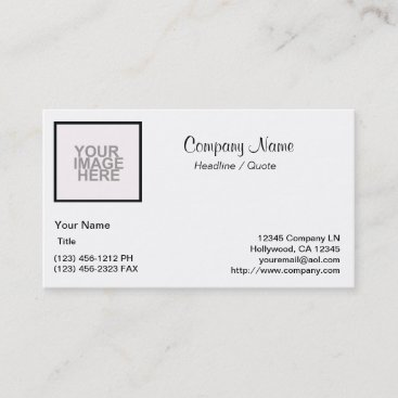 Start from Scratch! Business Card