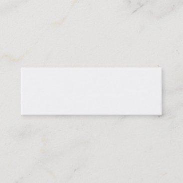 Start from Scratch! Mini Business Card