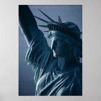 Statue of Liberty Closeup Photograph Print