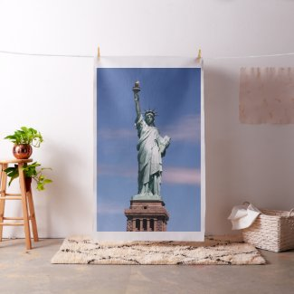 Statue of liberty Photograph Fabric