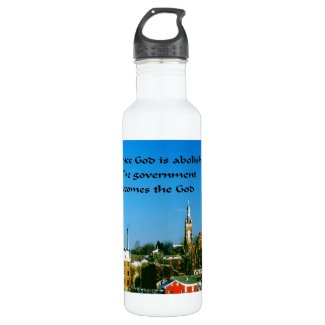 Stay close to God 24oz Water Bottle