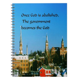 Stay close to God Spiral Notebook