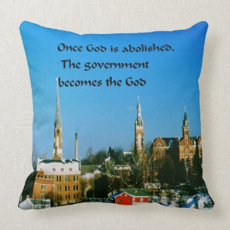 Stay close to God Throw Pillow