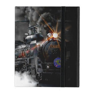 Steam Train Locomotive iPad Case