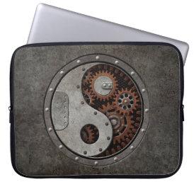 Steampunk Yin Yang Computer Sleeve