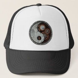 Steampunk Yin Yang Trucker Hat