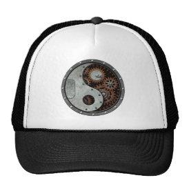 Steampunk Yin Yang Trucker Hat