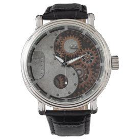 Steampunk Yin Yang Wristwatches
