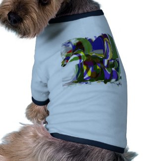 Strange Pony CricketDiane Art Products zazzle_petshirt