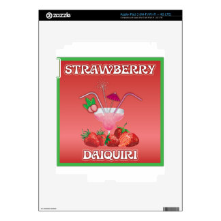 Strawberry Daiquiri iPad 3 Skin