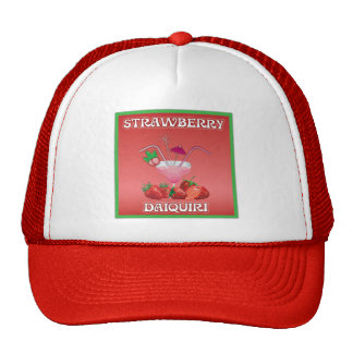 Strawberry Daiquiri Trucker Hats