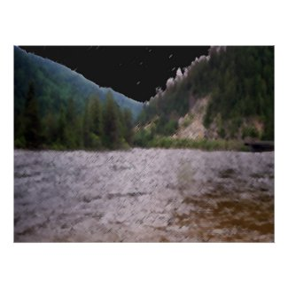 Stream Bridge print