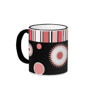 Stripes and circles - Mug