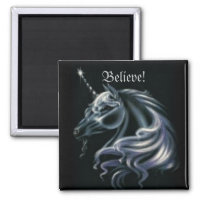Stunning Unicorn Magnet