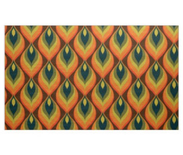 Stylish 70s Retro Mod Fabric