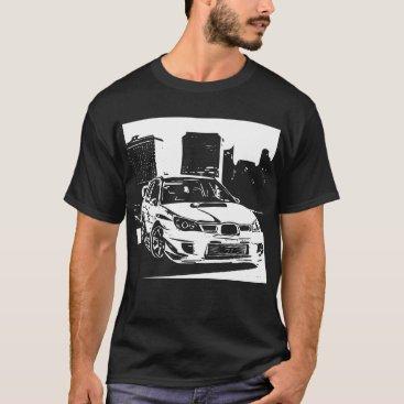 Subaru Impreza WRX Sti Vector Image T-Shirt