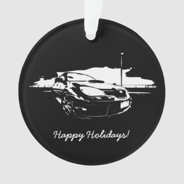Subaru WRX Impreza STI Drift Ornament