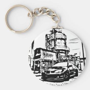 Subbie Love Keychain