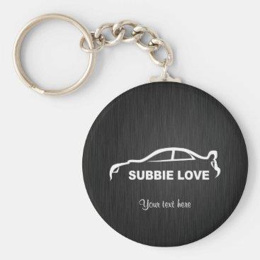 Subbie STI Key-Chain Keychain