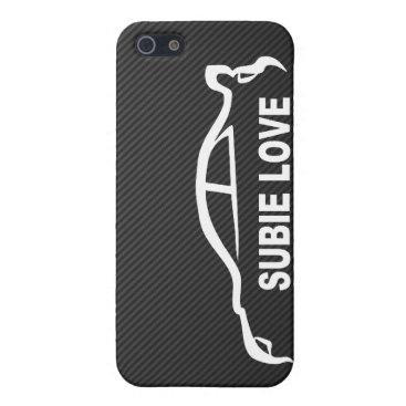 Subie Love iPhone SE/5/5s Case