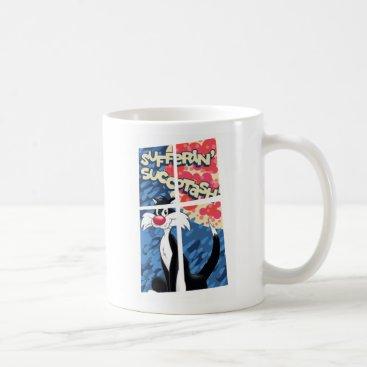 """Sufferin' Succotash"" SYLVESTER™ Behind Window Coffee Mug"