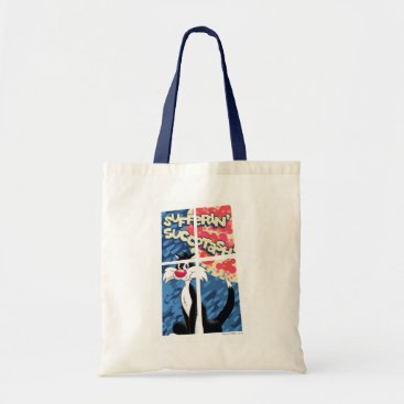"""Sufferin' Succotash"" SYLVESTER™ Behind Window Tote Bag"