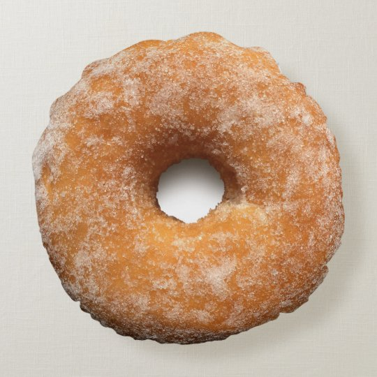 Sugar Donut Pillow