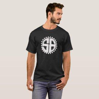 SugarBikes sprocket logo shirt
