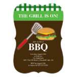 Summer Barbecue Cookout Invitation