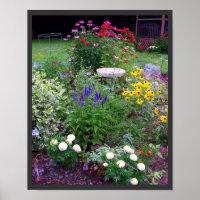 Summer Cottage Garden print