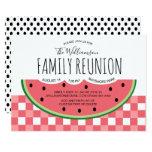 ❤️ Summer Family Reunion Watermelon Picnic Invitation