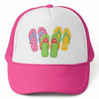 Summer Flip Flops Hat