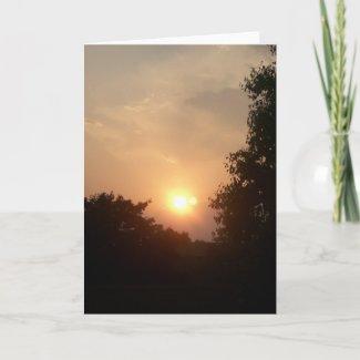 Sun and Moon Card card