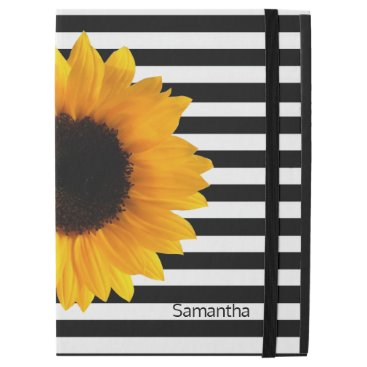 Sunflower and Stripes iPad Pro Case