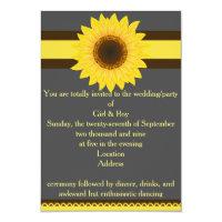 Sunflower General Invitation
