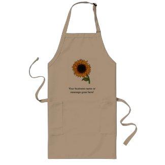 Sunflower Long Apron
