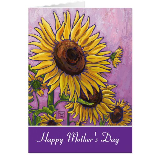 Sunflowers Happy Mother's Day Card