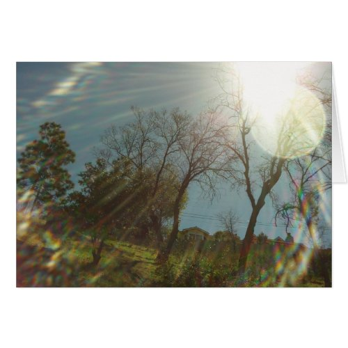 Sunny Mountan Day card