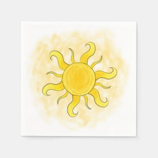 Sunny Shine Collection Standard Cocktail Napkin