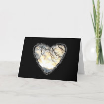Sunrise Heart Valentine Romance Love Card