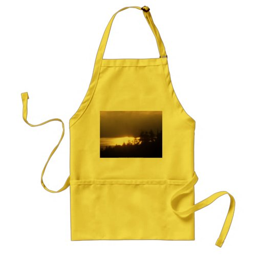 Sunrise Over the Columbia River #4 apron