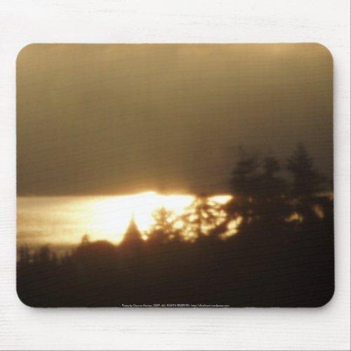 Sunrise Over the Columbia River #4 mousepad