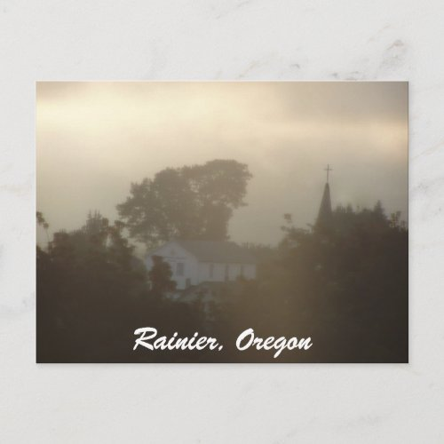 Sunrise Over the Columbia River #5 postcard