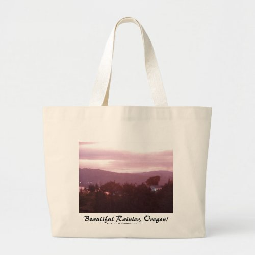 Sunrise Over the Columbia River #9 bag